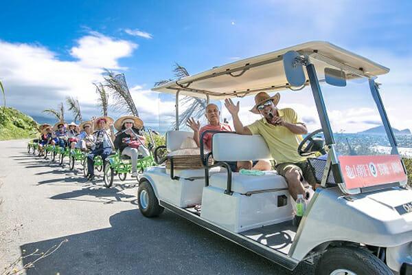 Coastal pull-cart